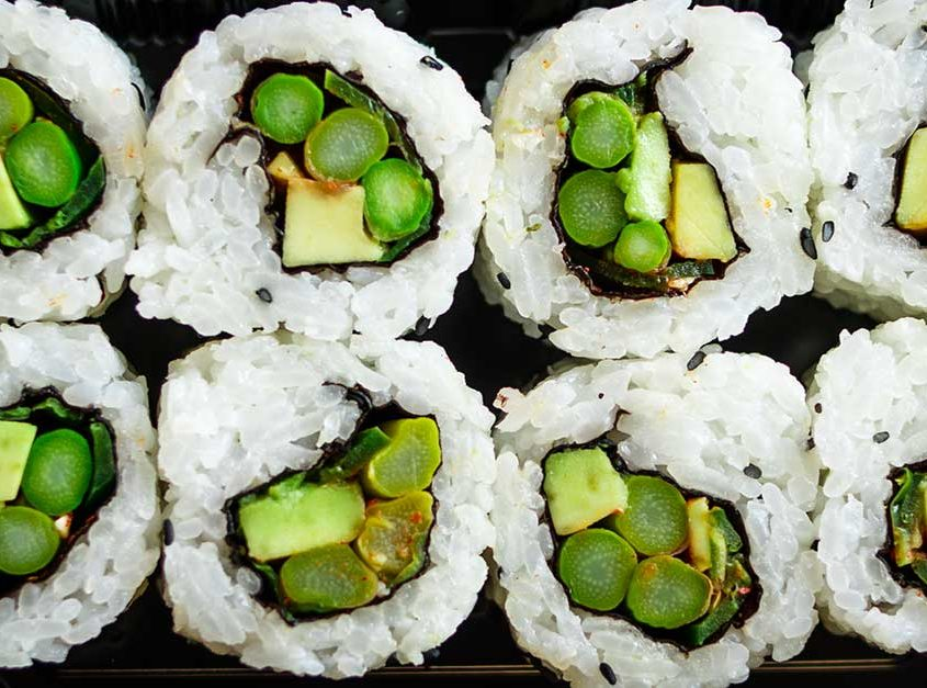 Spicy Asparagus Roll