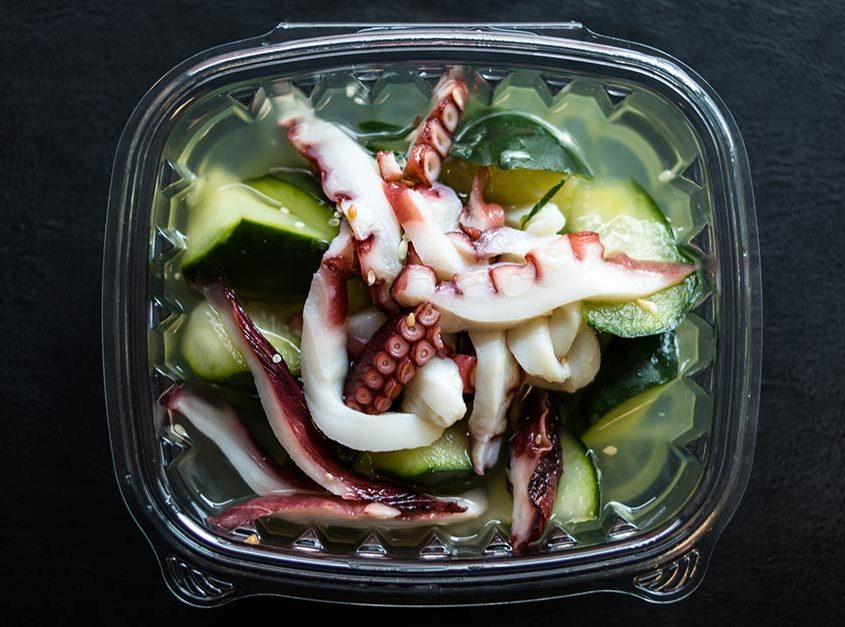 Tako Sunomono (Pickled Octopus)