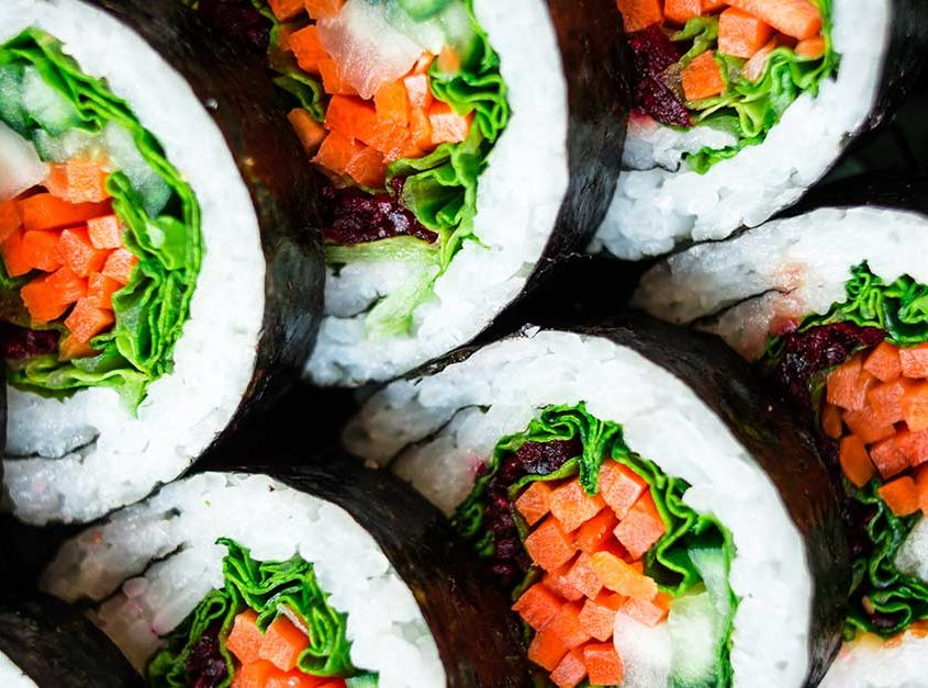 Veggie Futomaki Roll