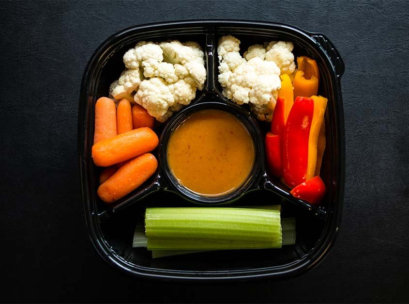 Veggie Pack with Peanut Sauce