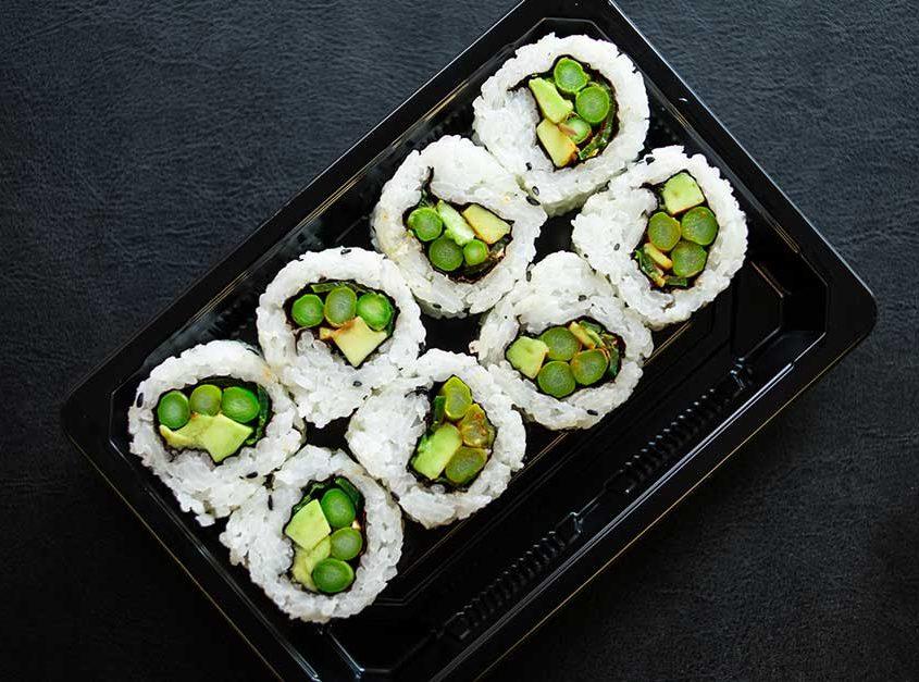 Spicy Asparagus Roll