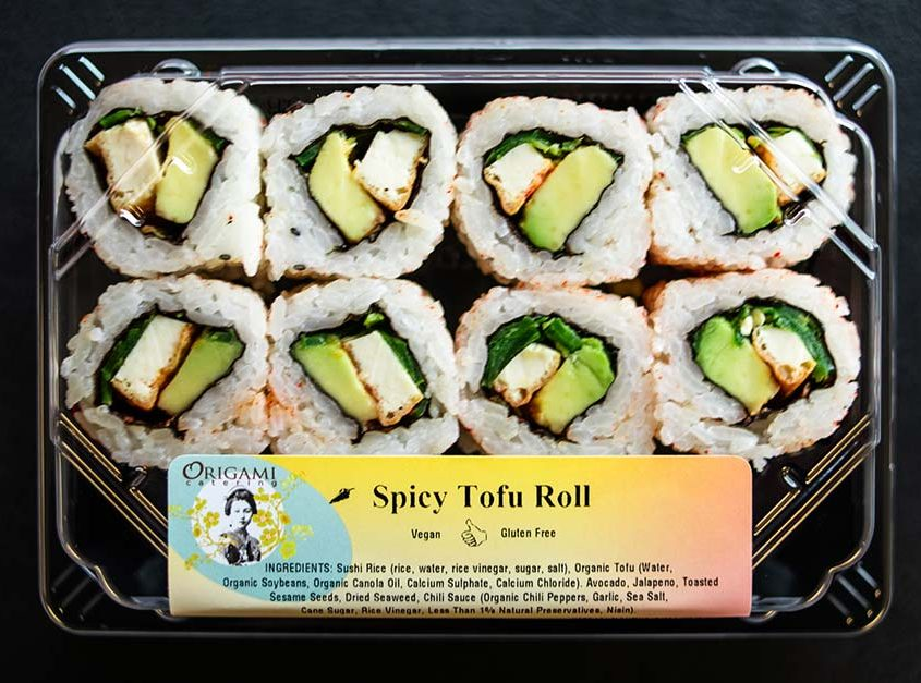 Spicy Tofu Roll